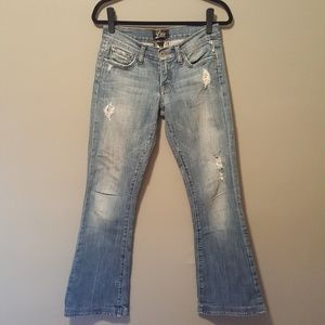 Lucky Brand Boot Cut Distressed Jeans